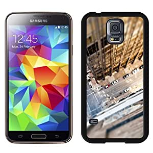 Fashionable Custom Designed Samsung Galaxy S5 I9600 G900a G900v G900p G900t G900w Phone Case With Look Down City Rooftop_Black Phone Case