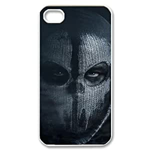 Call of Duty Ghosts Custom Case for Iphone 4,4S, Personalized Call of Duty Ghosts Case