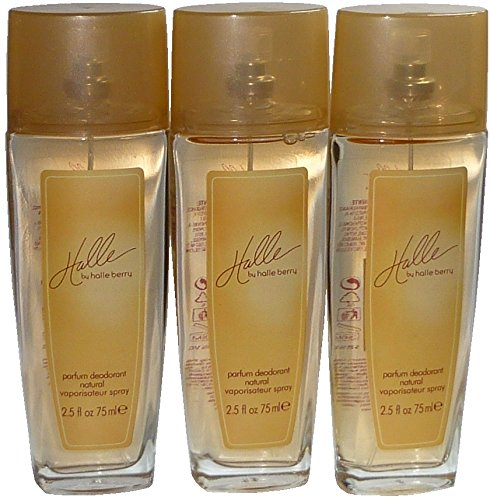 Halle Berry Halle Deodorant Natural Spray 75 ml ( 3-er Pack = 225 ml ) Coty