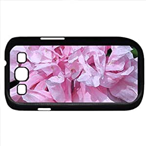 Pink Poppy (Flowers Series) Watercolor style - Case Cover For Samsung Galaxy S3 i9300 (Black)
