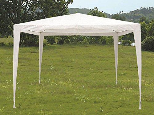 Gazebo tenda in metallo metri 3x3 telo impermeabile per campeggio fiera terrazzo pic nic NON APPLICABILE