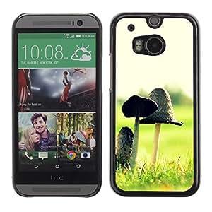 Be Good Phone Accessory // Dura Cáscara cubierta Protectora Caso Carcasa Funda de Protección para HTC One M8 // Plant Nature Forrest Flower 12