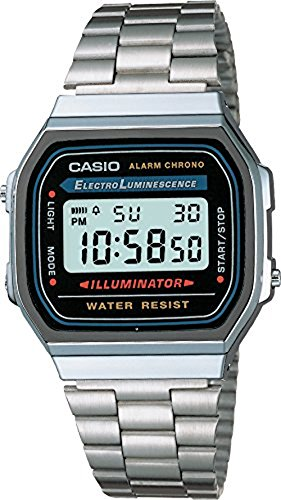 Casio Men's A168WA-1 Watch