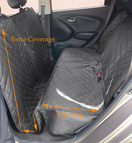 icover pet car bench front seat cover door cover for cars trucks and suvs ebay. Black Bedroom Furniture Sets. Home Design Ideas