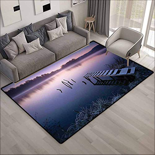 Collection Area Rug,Seascape,Extra Large Rug,4'11
