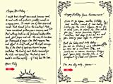 Quiplip Handwritten Yours Truly Birthday Cards, 6-Pack (YT01026PCK)