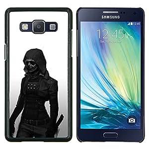 Jordan Colourful Shop - Dark Goth Woman For Samsung Galaxy A5 A5000 A5009 Personalizado negro cubierta de la caja de pl????stico