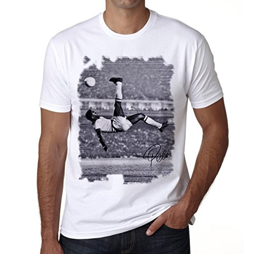 Pele Men's T-shirt Celebrity Star ONE IN THE -
