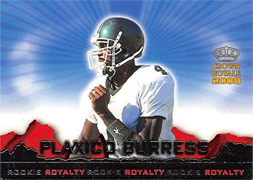 (Plaxico Burress football card (Michigan State Spartans) 2000 Pacific Crown Royale Rookie Royalty #3)