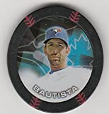 2014 Topps Poker Chipz Black Jose Baustista Toronto Blue Jays