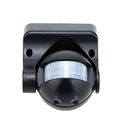 LEDMOMO Sensores Infrarrojos Infrarrojos del Sensor del Cuerpo de 180 Grados cambian la luz al Aire
