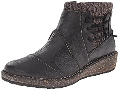 Amazon.com | Aetrex Women's Tessa Short Sweater Boot