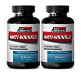 Product review for Hyaluronic Acid - Anti-Wrinkle Pills - Anti wrinkle support (2 Bottles - 120 Capsules)