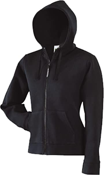 Lady Fit Hooded Sweat Jacket Fruit of the Loom Damen