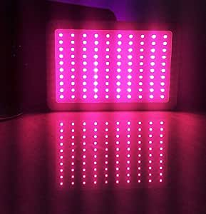 300w led panel grow light hydroponic system full spectrum for indoor plant veg and. Black Bedroom Furniture Sets. Home Design Ideas