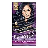 Wella Koleston Coloracion Permanente en Crema, color 28 Negro Azulado, 3 Piezas