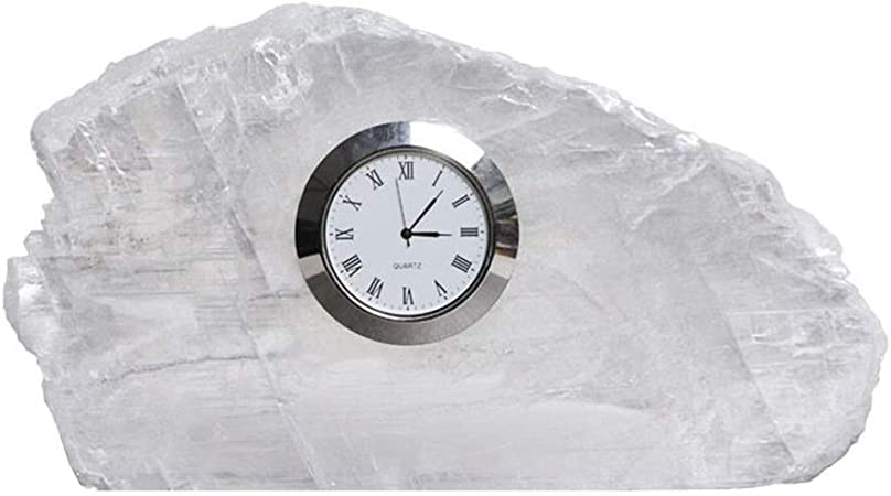 JBP max Reloj de jardín Soporte Reloj Simple y Transparente Spar Reloj Creativo luz Reloj de Personalidad-JBP8: Amazon.es: Hogar