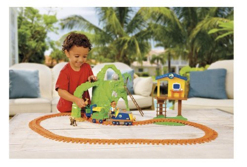 Go Diego Go Rescue Pack - Fisher-Price Go Diego Go Animal Rescue Railway Track System