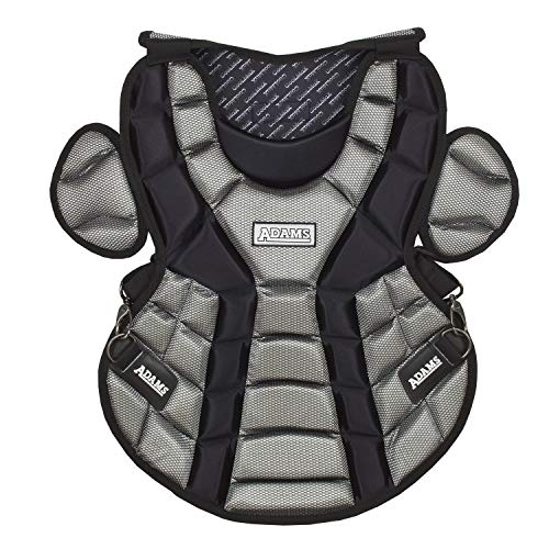 Adams ACP-15 Junior Chest Protector with Detachable Tail (15-Inch, Black)