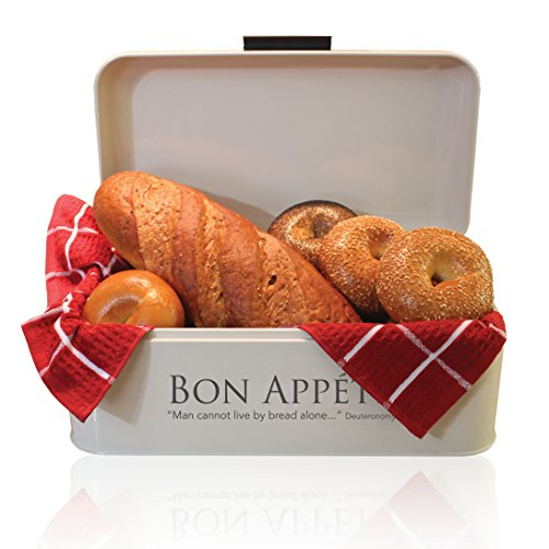 stainless steel 2 loaf bread box - 9