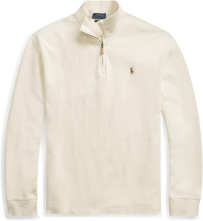 Polo Ralph Lauren Jersey para hombre beige XXL: Amazon.es: Ropa y ...