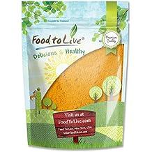 Food to Live Turmeric Powder (Ground Turmeric Root, Kosher) (8 Ounces)