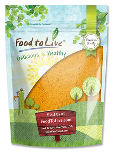 Food to Live Turmeric Powder (Ground Turmeric Root, Kosher) (8 - Ground Turmeric