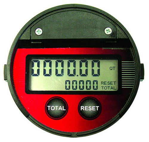 National-Spencer 1504AR Digital In-Line Totalizing Meter, 1/2'' NPT by National-Spencer, Inc.