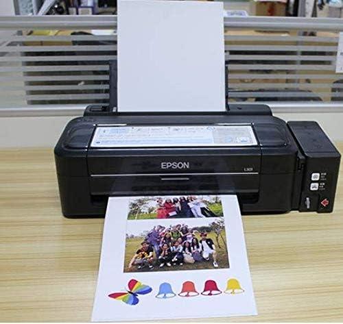 per stampanti a getto dinchiostro asciugatura istantanea e idrorepellente Confezione da 50 fogli di carta fotografica A4 135 g pripa carta lucida colori e bianchi brillanti