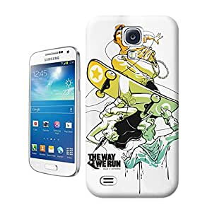 Longcase Boy Playing Sliding Plate Light Tpu Material Hard Case For S4