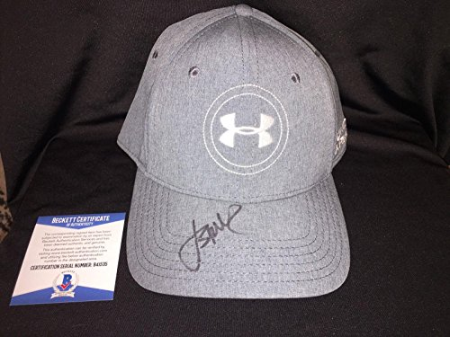 Jordan Spieth Signed Official Under Armour Hat Beckett Auth Masters Champ - Beckett Authentication - Autographed Golf Hats and Visors ()