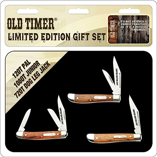 (Schrade Old Timer 3 Pc Gift Tin)