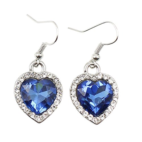 Jewellery & Watches Sets Ocean Heart 925 Crystal Sapphire Set