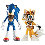 TOMY Boom Small Sonic and Tails with Dirty Deco Action Figure (2-Pack)