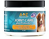 Advanced petZ Joint Care plus Probiotics Supplement for Dogs by Glucosamine Chondroitin MSM. 6oz