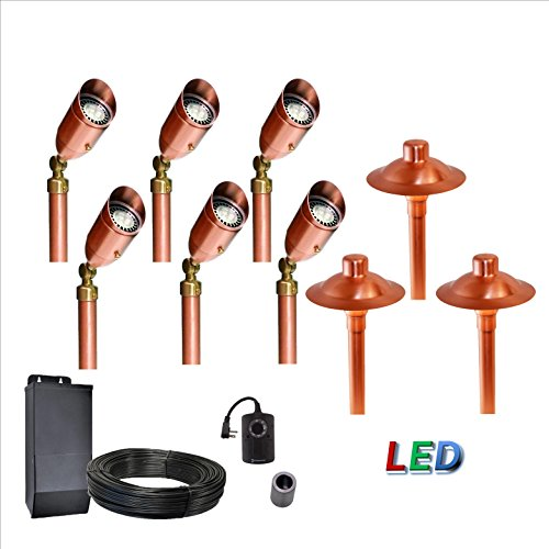 9 Light Landscape Lighting System
