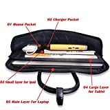 Cartinoe 14 - 15 inch Felt Laptop Tote Bag Shoulder
