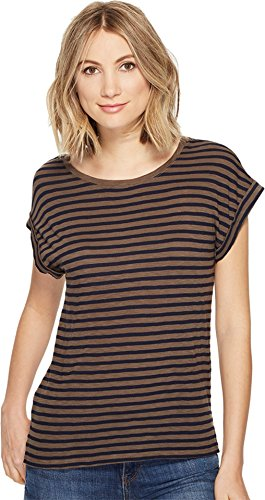 splendid-womens-french-stripe-roll-up-tee-military-olive-t-shirt