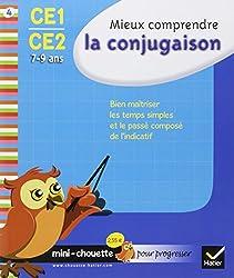Mini chouette mieux comprendre la conjugaison CE1/CE2 7-9 ans