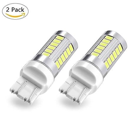 7443 T20 bombillas LED W21/5W 33SMD 5630 chipsets bombillas de luz LED para intermitentes