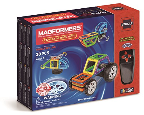 278-39 Magformers Funny Wheel Set 20