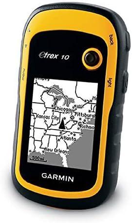 Renewed Garmin eTrex 10 Worldwide Handheld GPS Navigator
