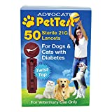 PetTest Twisttop Lancets 50/bx 100bx/cs, Case of 100