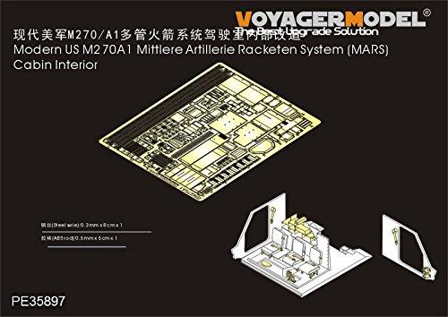 ボイジャーモデル 1/35 現用アメリカ M270A1 MLRS キャビンインテリアセット トラペ01046用 プラモデル用パーツ PE35897