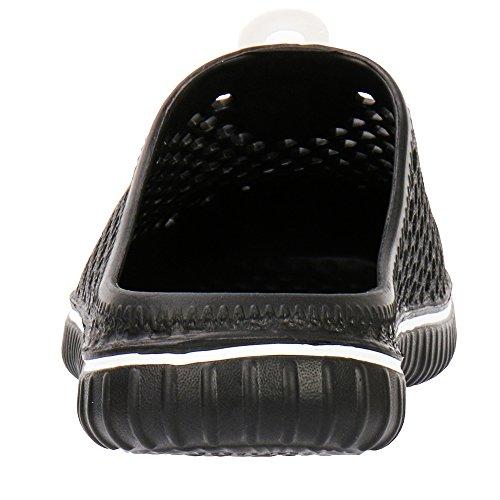 Black Shoes Slippers ALEADER Sandal Unisex Garden Comfort Walking rXn4q047Y