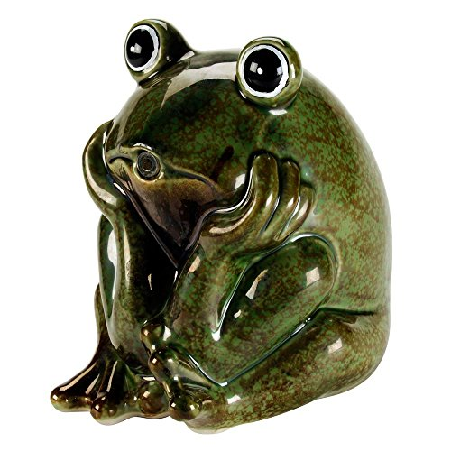 (AQUANIQUE Ceramic Frog Spitter)