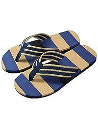 Tenworld Men's Flip Flop Sandals, Summer Beach Thong Slipper Shoes