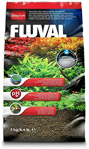 Fluval Plant and Shrimp Stratum, 4.4 Pound, 5 Pack (Best Substrate For Planted Freshwater Aquarium)