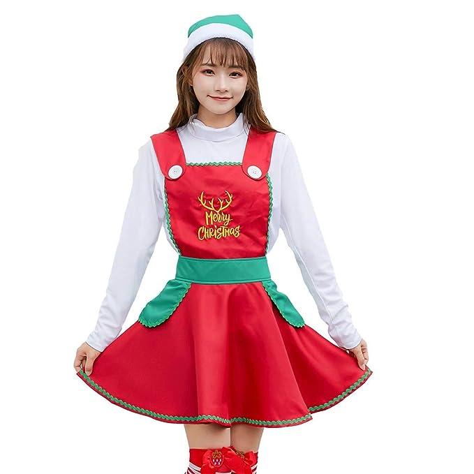 2019 Disfraces de Navidad de Santa para Mujer Disfraz de Sra ...