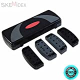 SKEMiDEX--- 31'' Fitness Aerobic Step Adjust 4'' - 6'' - 8'' Exercise Stepper w/Risers It is highly recommended when u want to keep fit and enjoy your professional aerobic step exercise.